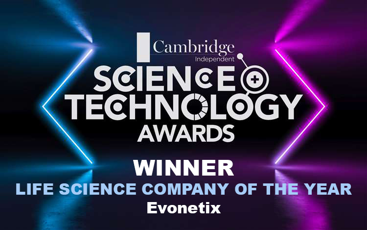Science Technology Awards Winner - Life Science Company of the Year: Evonetix